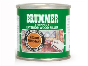 Brummer Wood Filler Exterior Wood Filler Teak 225g 10711