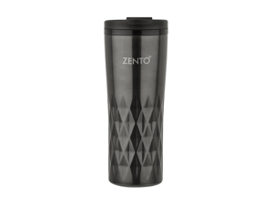 Zento Vacuum Flask Diamond Vacuum Tumbler Gun Metallic 450ml 13200