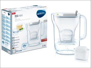 Brita Water Filter M+ Style Water Filter Cool Grey 1021884