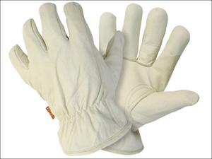 Briers Garden Gloves Hide Glove Medium BO021