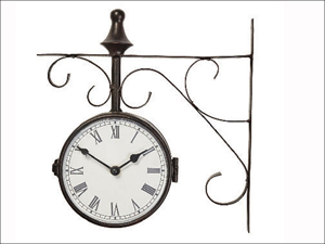 Briers Outdoor Clock Warminster Clock & Thermometer B6147
