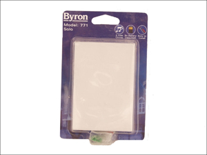 Byron Door Chime Solo Chime White 771