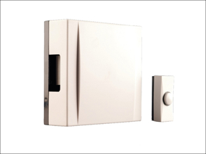 Byron Door Chime Wired Chime Kit (Including Bell Push + Wire) 720