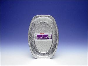 Caroline Foil Tray Foil Platter 14in x 3 1071/CP4A
