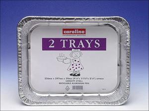 Caroline Foil Tray Foil Tray 60oz x 2 1013