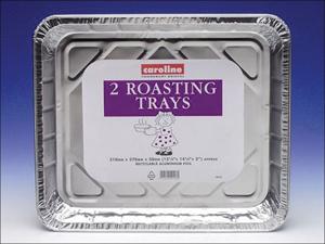 Caroline Foil Tray Oven Tray 181oz x 2 1016/cp14