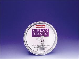 Caroline Foil Dish Deep Foil Flan Case 8in x 5 T1054