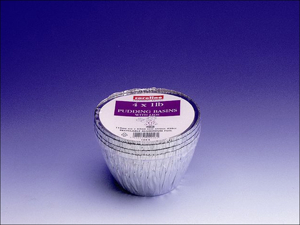 Caroline Pudding Basin Foil Pudding Basin x 4 1lb 1044