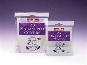 Caroline Jampot Cover Jam Pot Covers 2lb x 20 1111