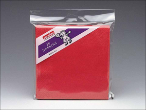 Caroline Paper Napkins Napkins 2ply Red x 20 1206
