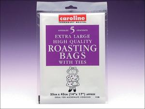 Caroline Roasting Bag Large Roasting Bags 30 x 43cm x 5 1128