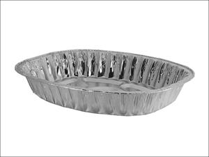 Caroline Roasting Tins & Pans Roasting Tray Oval 43cm x 35cm x 6cm 1098